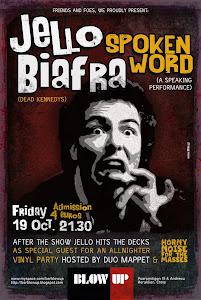 Jello Biafra spoken word