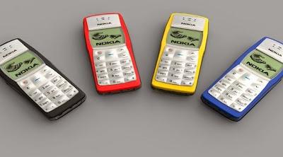 Ponsel Terlaris Di Dunia - Nokia 1100