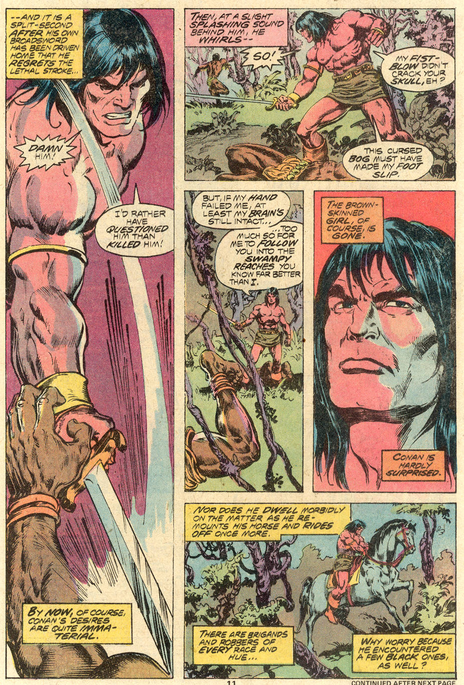 Conan the Barbarian (1970) Issue #82 #94 - English 8