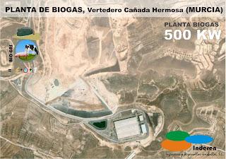 planta de biogas BODIGESTORES cañada hermosa ludan Murcia 500 KW INDEREN biodigestores ENERGIAS RENOVABLES VALENCIA