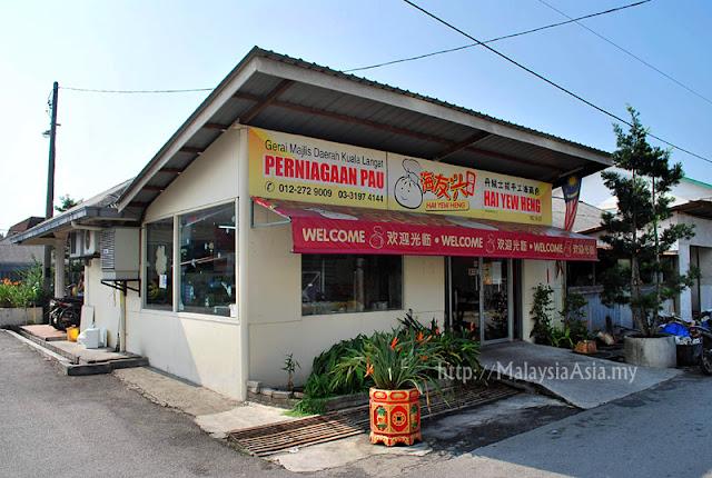 Hai Yew Heng Pao Factory in Tanjung Sepat