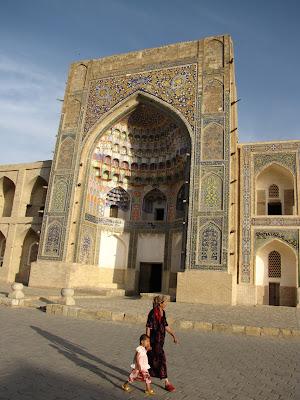 Uzbekistán, Bujara - Madrasa Abdullaziz-khan