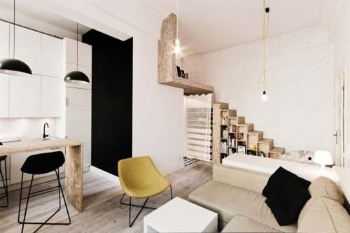 in pochi metri quadri: blog arredamento interior design lifestyle - Soggiorno E Cucina In 60 Mq