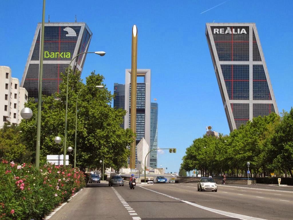 Torres kio madrid xxi - Torres kio arquitecto ...