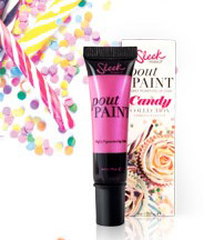 Sleek Makeup Limited Edition Candy Collection: Lol - Lip - Pop Pout Paint
