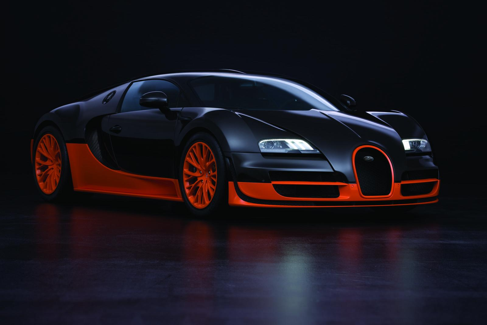 Bugatti Has Marked Its New Landspeed World Record For Production Cars With  Its Veyron 16.4 Super Sport On The Proving Grounds Of The Volkswagen Group  At ...