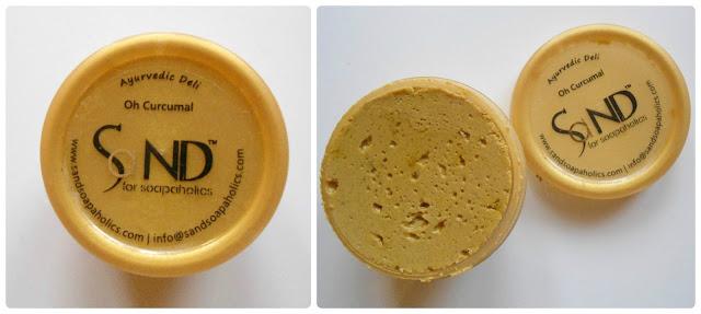 Fab Bag 2015 Sand for Soapaholic oh Curcumal Face Cleanser