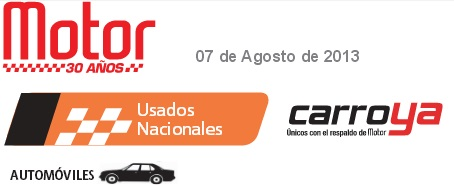 Revista Motor Agosto de 2013 carros usados nacionales revista motor