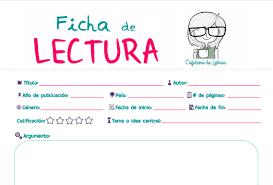 FICHAS de LITERATURA Y CINE