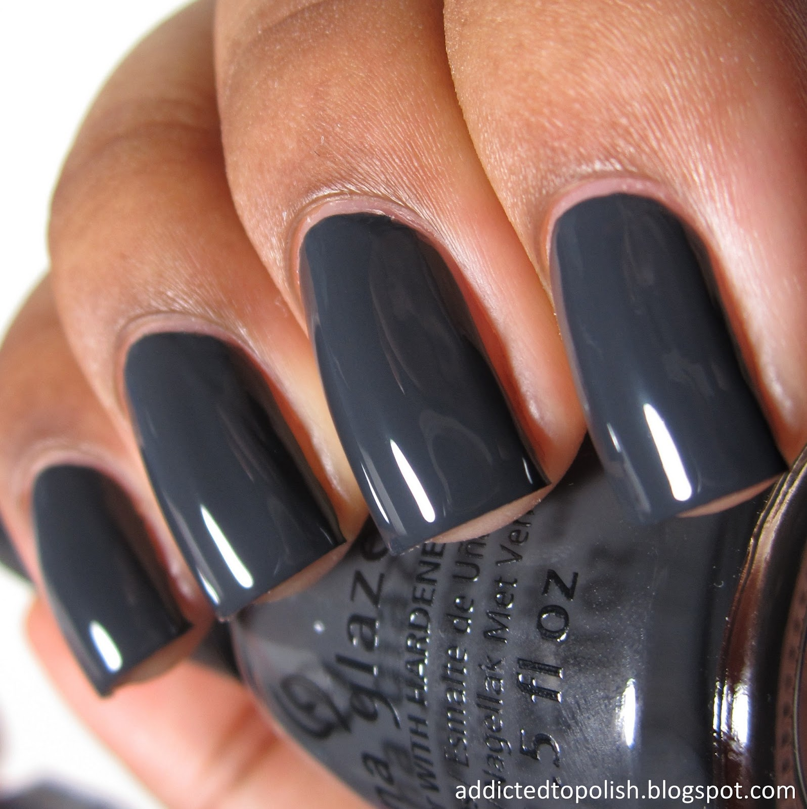 China Glaze Out Like a Light Twinkle Winter 2014