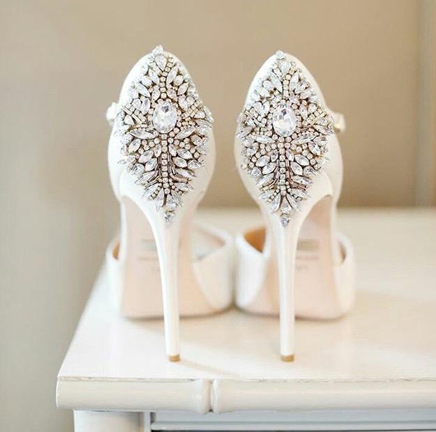 becé bodas & eventos: vestir por los pies: zapatos de novia