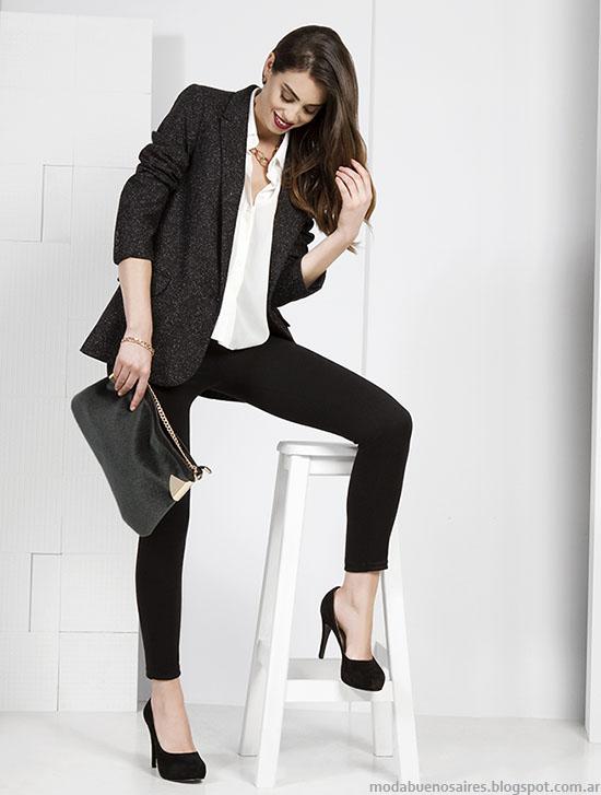 NMD otoño invierno 2015 moda mujer argentina.