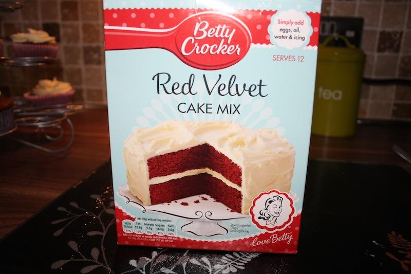 Cake Art Red Velvet Cake Mix : Betty Crocker Red Velvet Cake Mix - PRETTY YOUNG THING