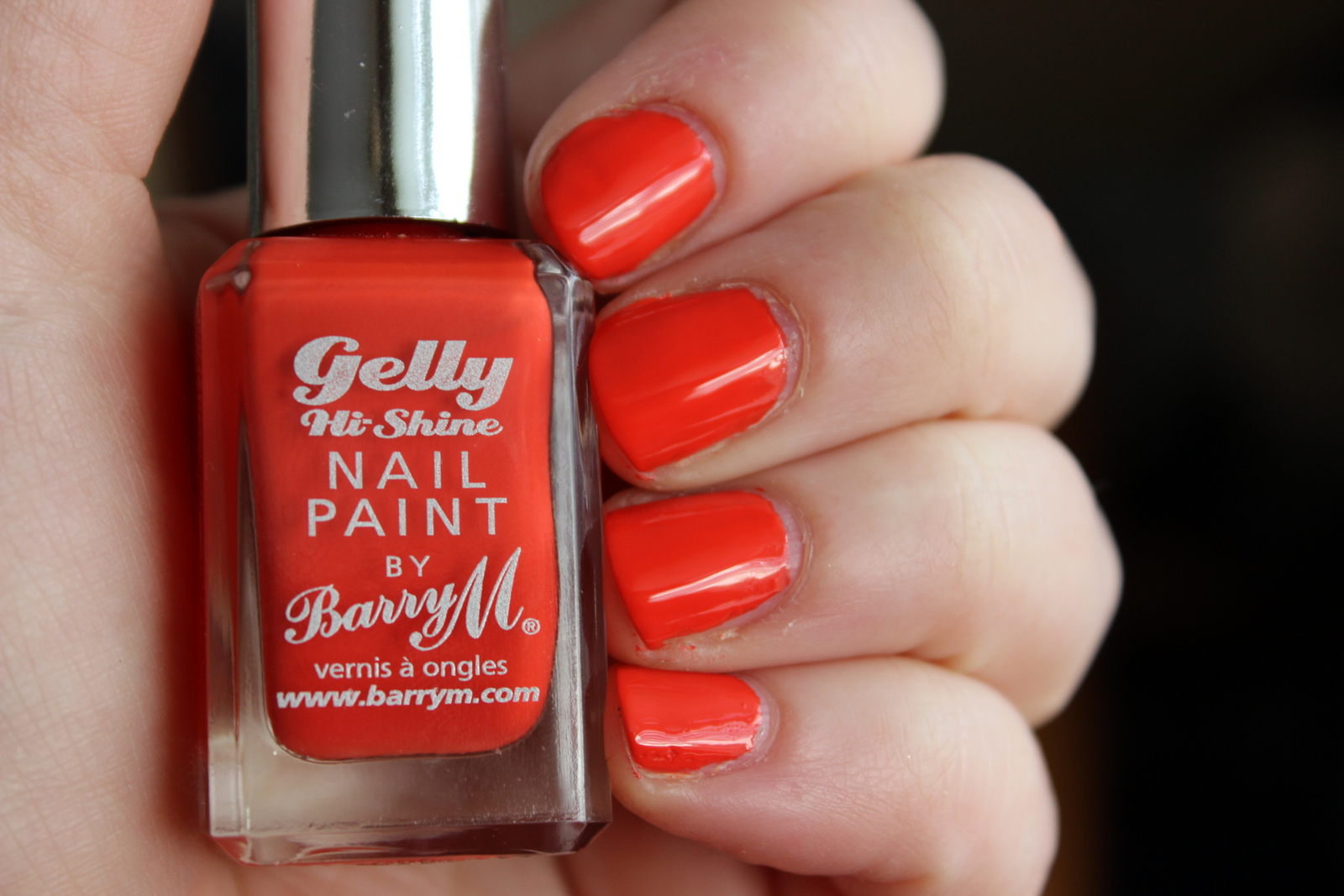 Barry M Gelly Hi-Shine Nail Paint - Satsuma - photos galore ...