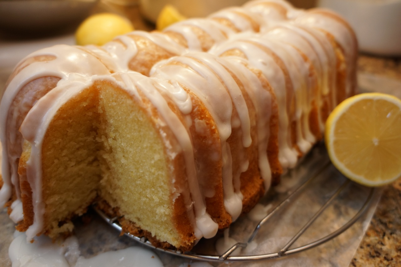 Pound Cake Without Buttermilk