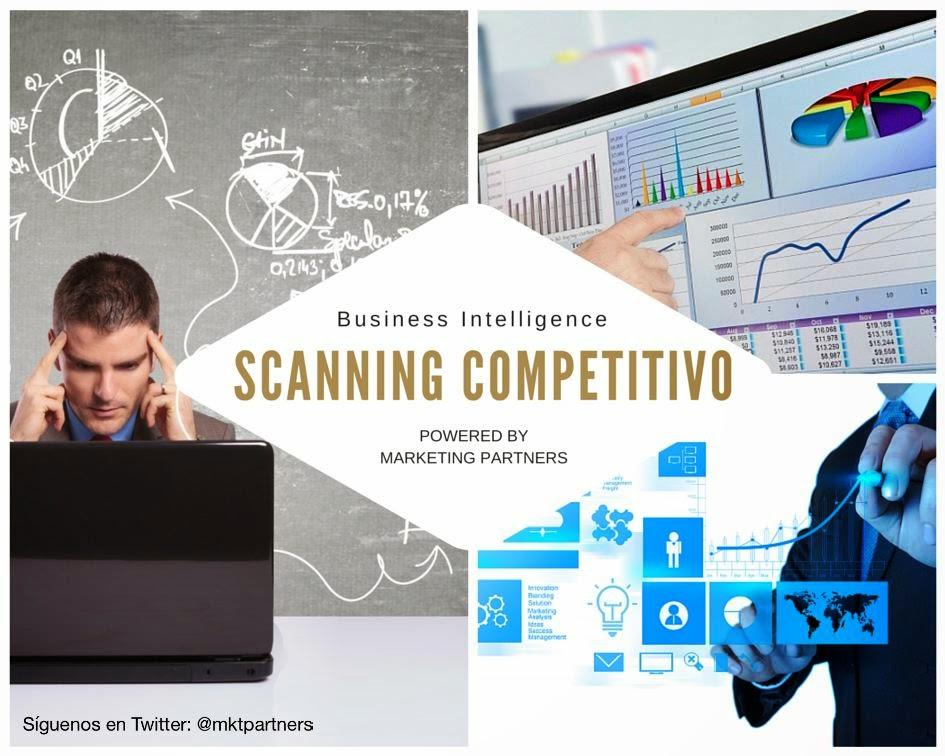 ¿QUE ES EL SCANNING COMPETITIVO? - Inteligencia Comercial