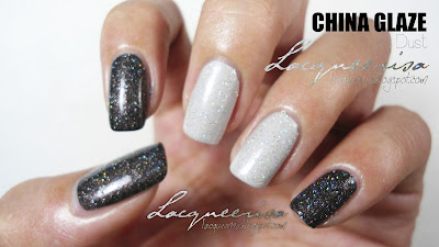 China Glaze Fairy Dust Swatched
