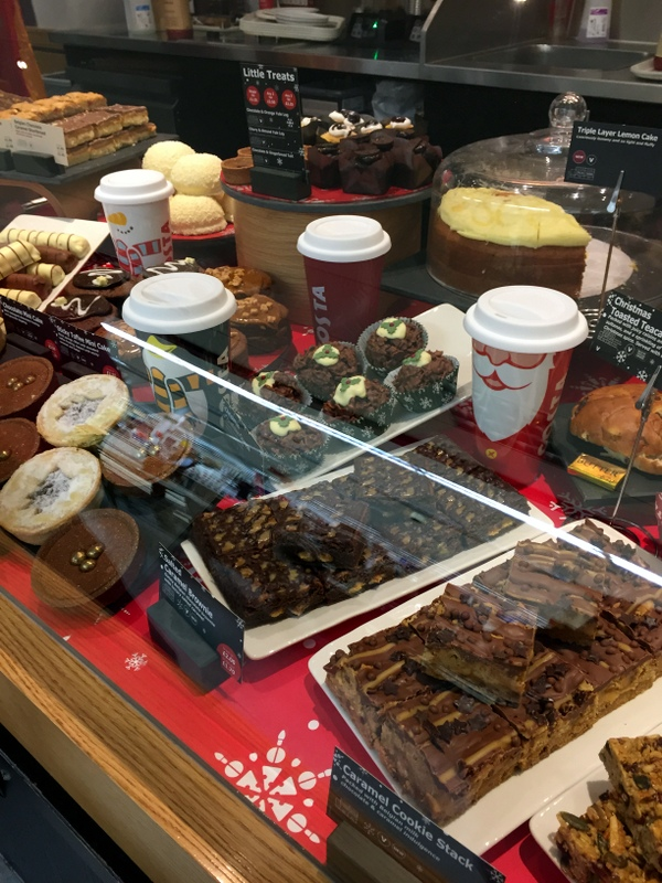 Gem's Country Life: Christmas at Costa Coffee
