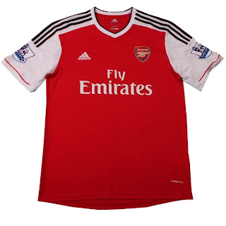 Leaked Jersey Grade Ori Arsenal Home season 13/14