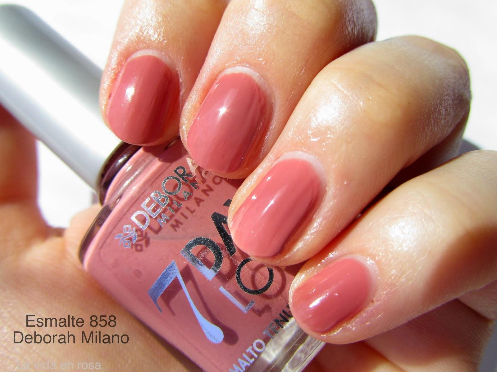 Uñas y labios a juego con Deborah Milano | La vida en rosa | Bloglovin\'