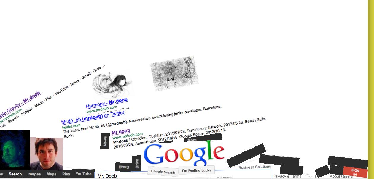 Optimus 5 search image google poop mr doob