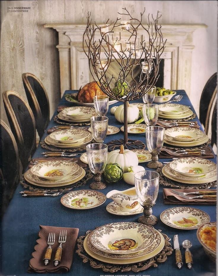 thanksgiving table setting inspiration
