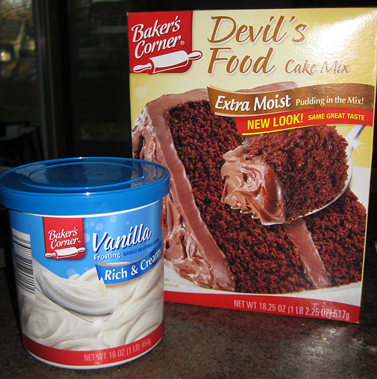 The Pantry Cake Mix Aldi