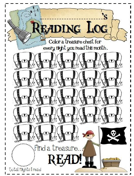Sailing Through 1st Grade: New Reading Logs