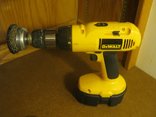 DeWalt Cordless Drill With Wire Brush
