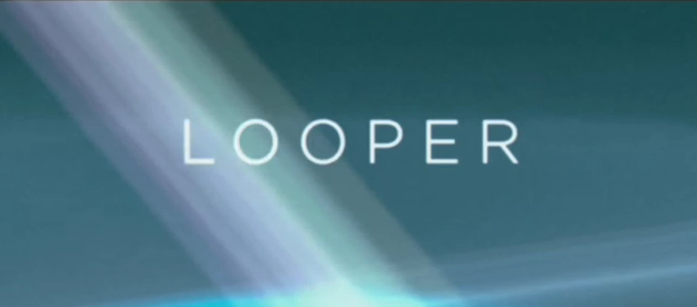 Looper 2012 science fiction noir time travel title from TriStar Pictures, Endgame Entertainment and Film District