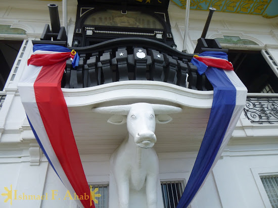 White carabao of Aguinaldo Shrine