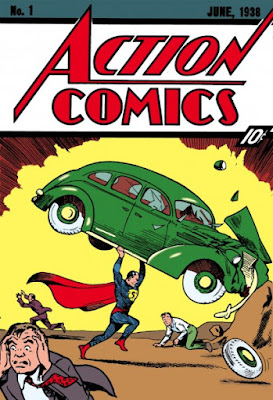 DC Comics' Action Comics Issue #1 Cover Artwork