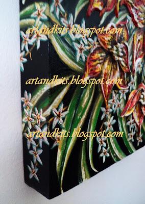 O misto de força, beleza e delicadeza, faz das flores um tema recorrente nas minhas pinturas e fotos. / The mix of strength, beauty and delicacy of flowers makes of them a recurring theme in my paintings and photos.