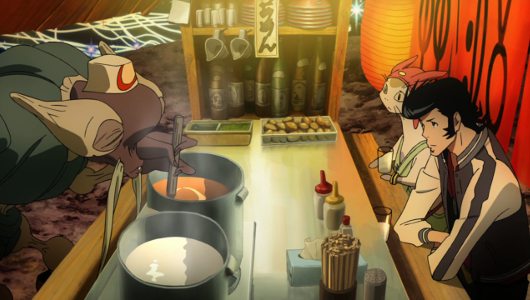 Recenzja anime Space Dandy (2014). Studio Bones.