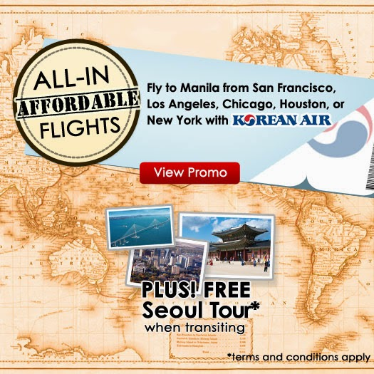 Korean Air All-in, Affordable Flights to Manila Promo Mango Tours Philippines
