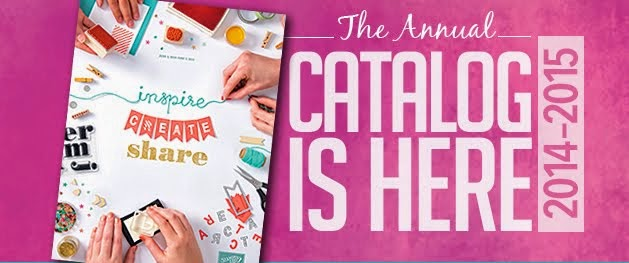 2014 -2015 Stampin' Up! Annual Catalog