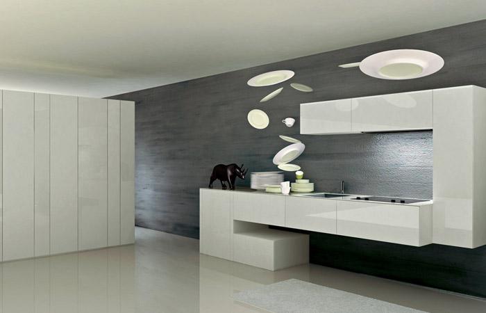 Parete Colorata Cucina. Gallery Of With Parete Colorata Cucina ...