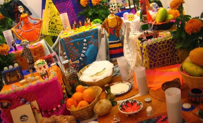 Decoracion Altar De Muertos ~ Para este d?a de muertos, pon una ofrenda ecol?gica ~ Mundo Feliz