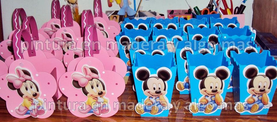 Cajas de sorpresas de Minnie - Imagui
