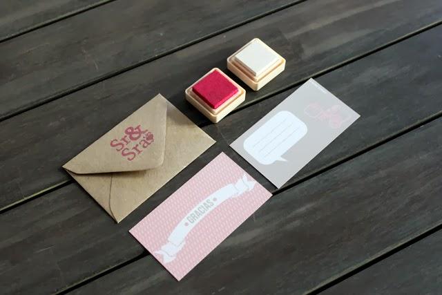 detalles de boda tarjetas de agradecimiento
