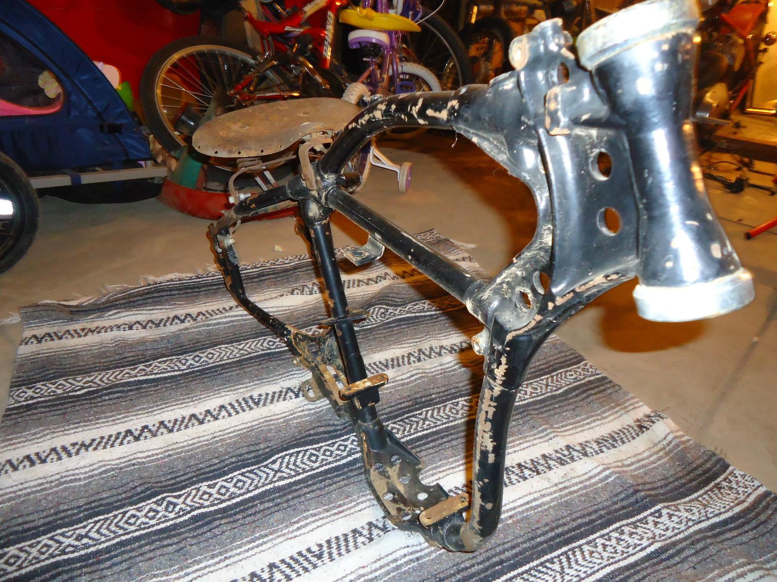 Musings Of A Motorcycle Aficionado........: Harley Davidson WR Frame ...