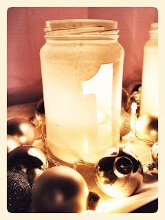 diy adventskranz aus glas upcycling