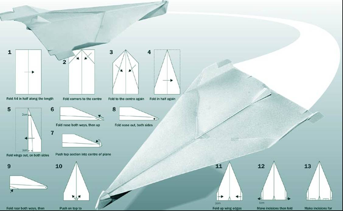 how to run paper airplane contest