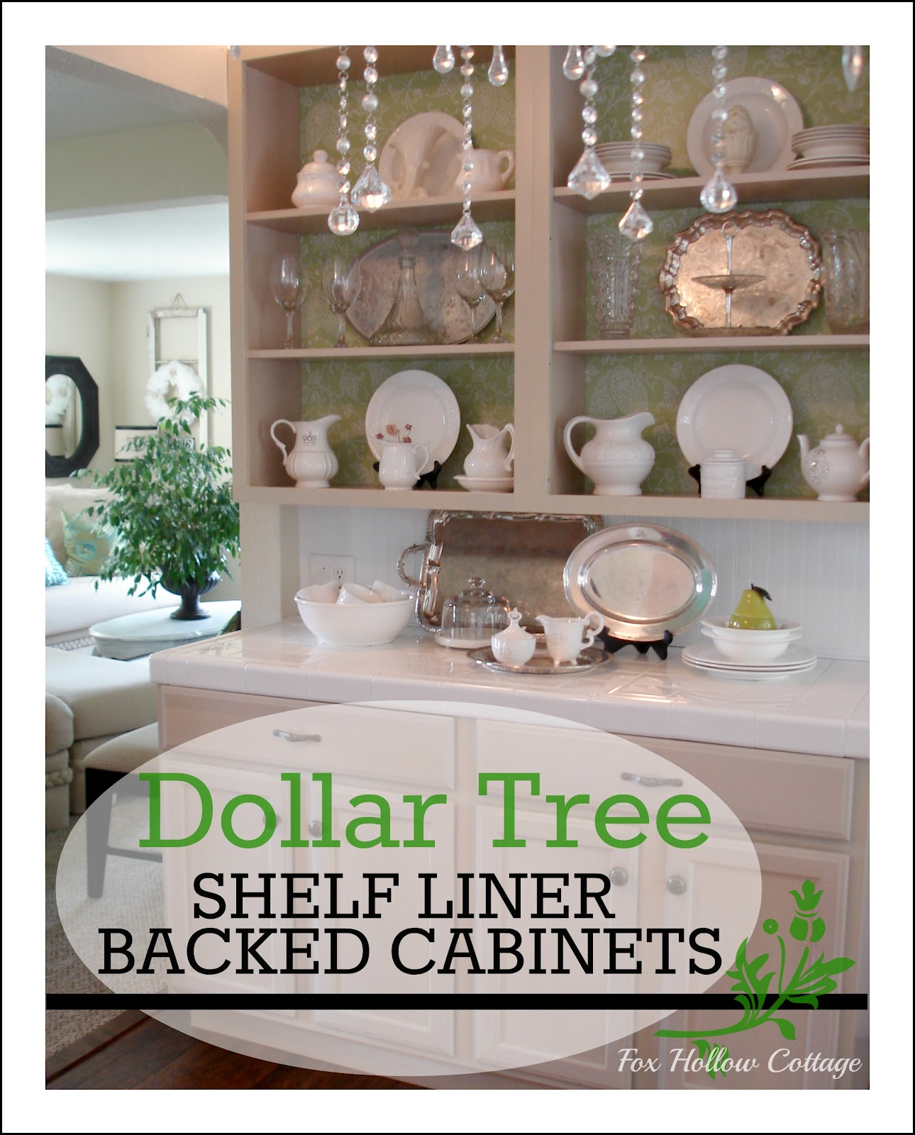 Cottage Kitchen Remodel On A Budget: Styling Open Kitchen Cabinets; The Cheap Truth