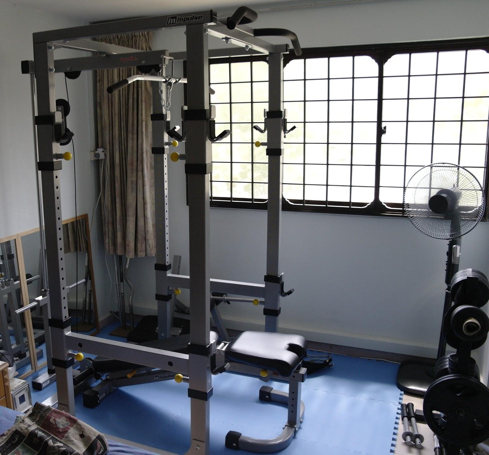 Singapore home gym singapore home gym undergoes renovation part