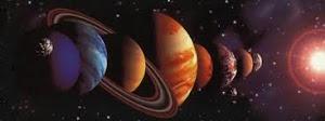 Observa una comparación entre el tamaño de los planetas del Sistema Solar