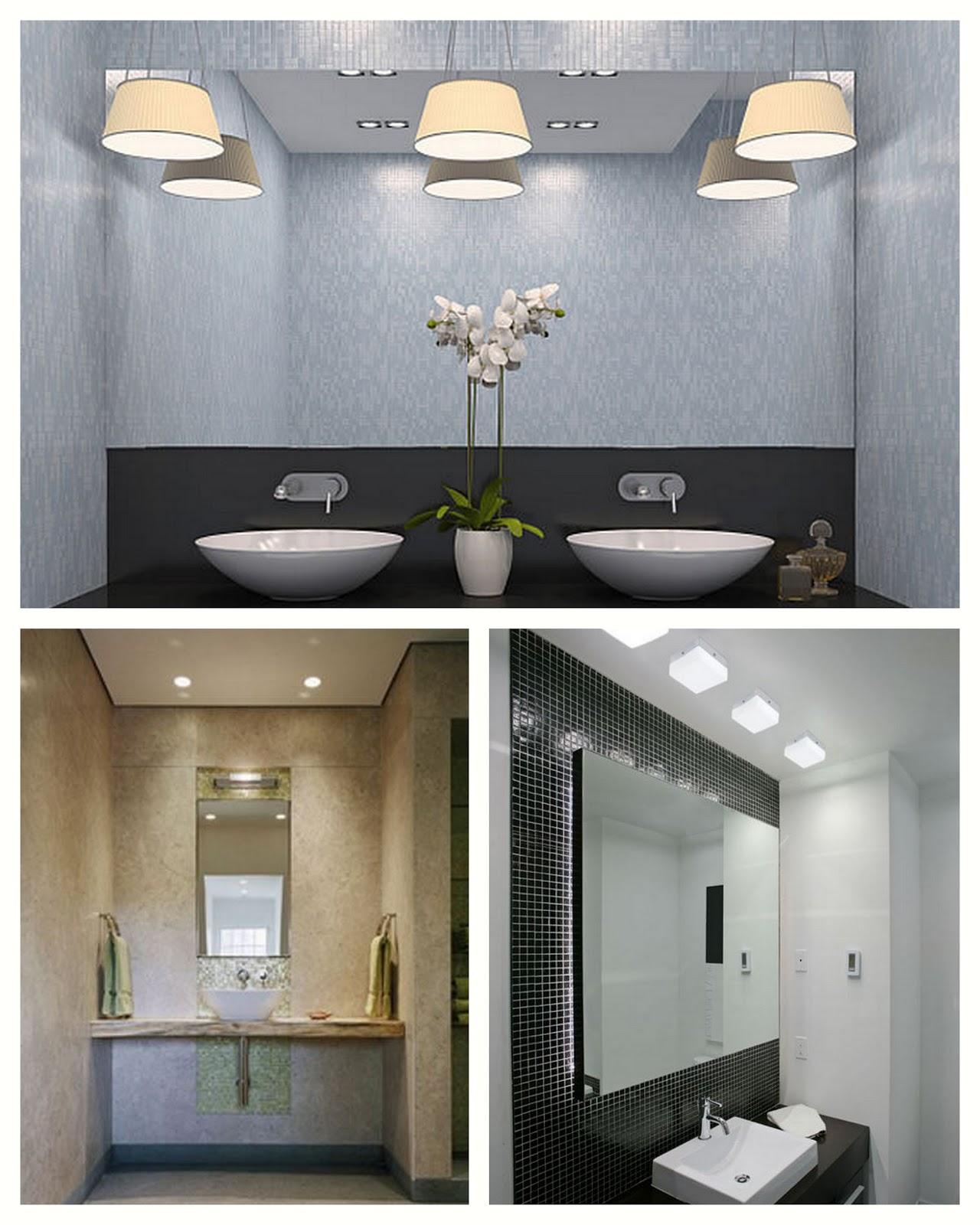 Reformando pra MoRar: Luminárias para espelho de banheiro #5F4F37 1280 1600