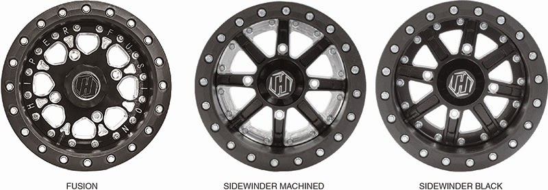 HiPer Carbon Composite beadlock wheels