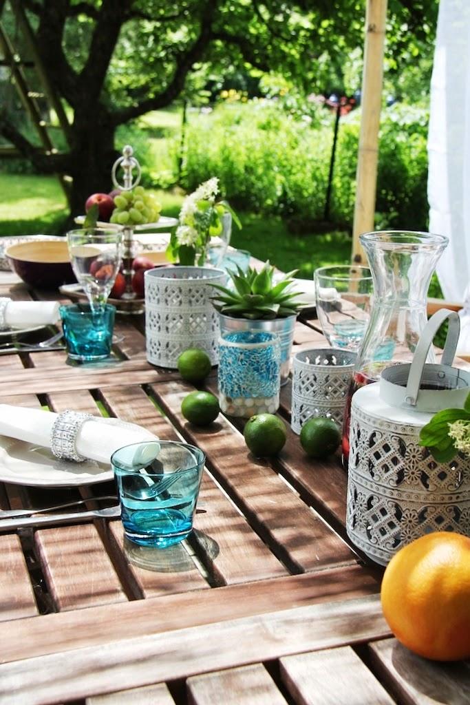 Lieblingsidee garden beachhouse and decorating a table aus alt mach neu und sommerliche - Orientalische tischdeko ...