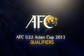 Jadwal Kualifikasi AFC U-22 2013